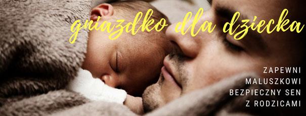 Gniazdko niemowlęce z tkaniny bambusowej od Tiny Star – bezpieczeństwo dla maluszka